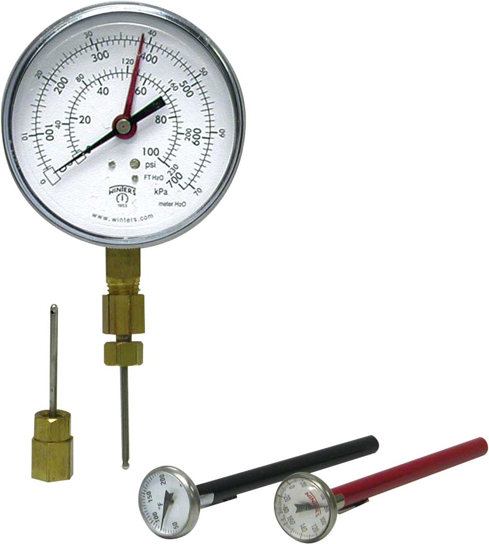 PTK PRESSURE AND TEMPERATURE KIT