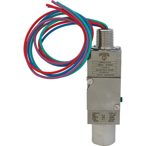 9WPS EXPLOSION PROOF COMPACT PRESSURE SWITCH
