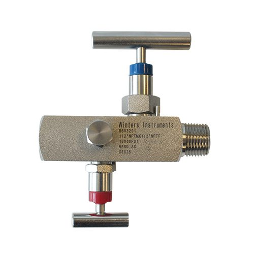 BBV BLOCK & BLEED VALVE TWO HANDLES