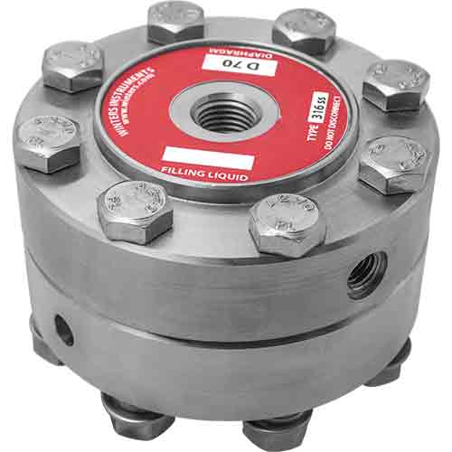 D70 HEAVY DUTY 2-PIECE INDUSTRIAL DIAPHRAGM SEAL