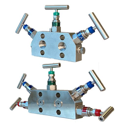 MVA 3 & 5 HANDLE MANIFOLD VALVES