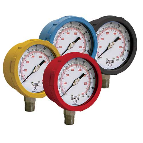 PCC COLOUR CODED PRESSURE GAUGE