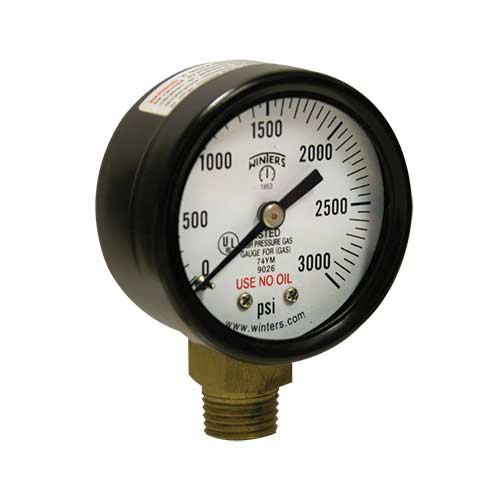 PCG COMPRESSED GAS PRESSURE GAUGE