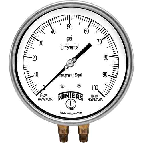 PDT DIFFERENTIAL PRESSURE GAUGE