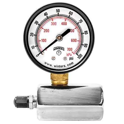 PET ECONOMY TEST GAUGE/ PET-LF LEAD FREE ECONOMY TEST GAUGE