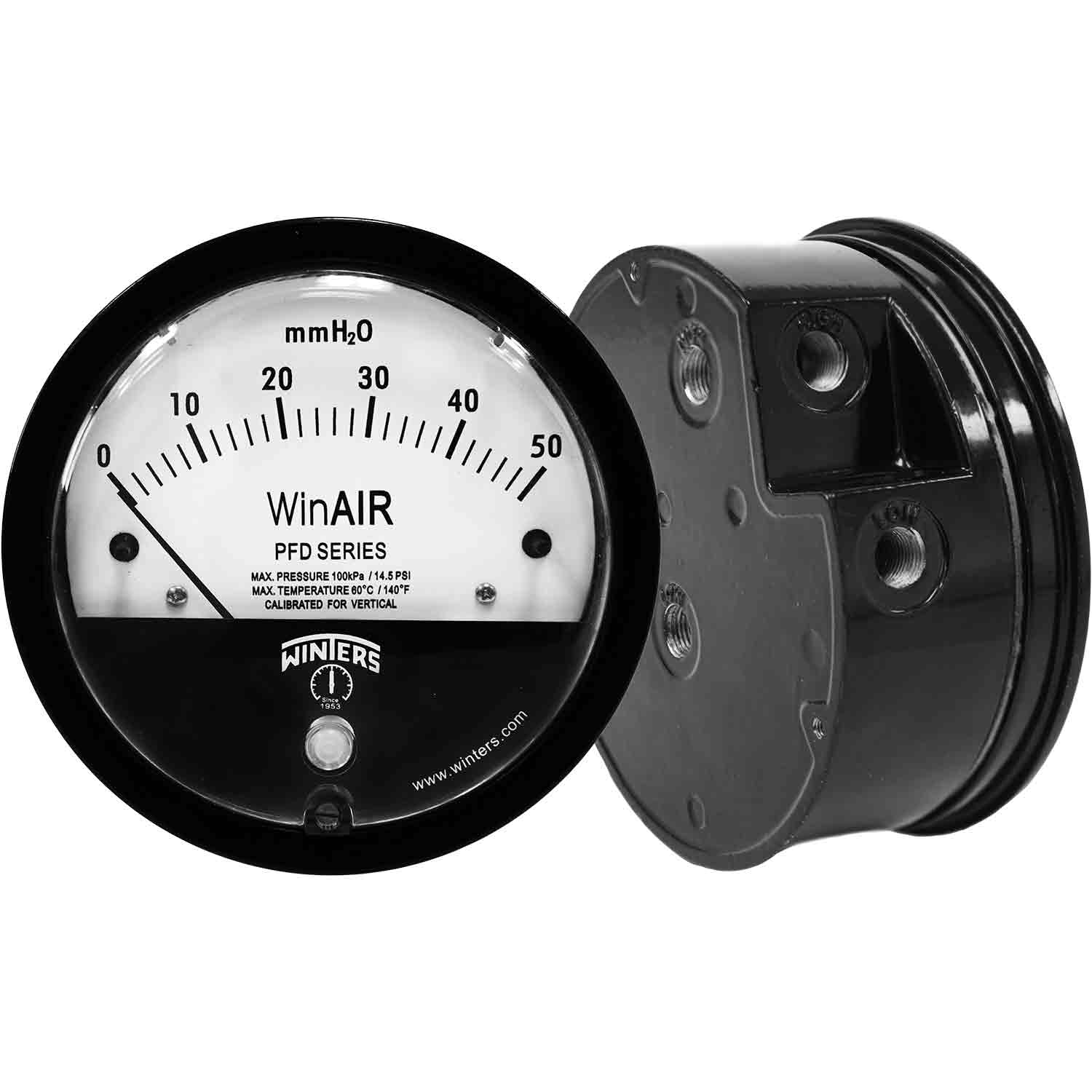 PFD WinAIR DIFFERENTIAL PRESSURE GAUGE