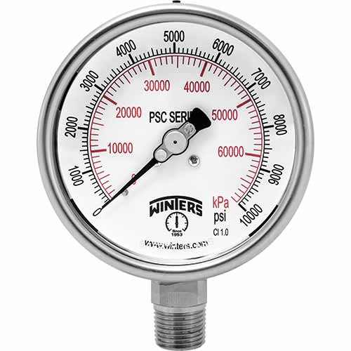 PSC SAFETY CASE PRESSURE GAUGE