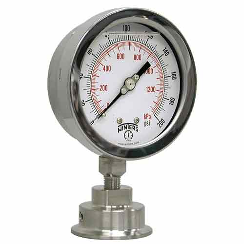 PSI INDUSTRIAL SANITARY GAUGE ASSEMBLY