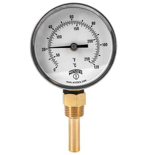 TBT HVAC BI-METAL THERMOMETER